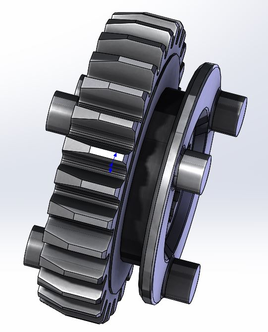 VFR Transmission Gear