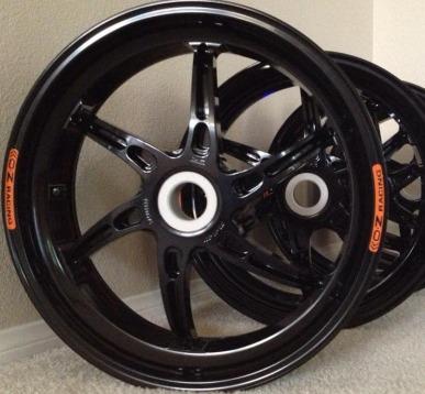 OZ Rear Wheels